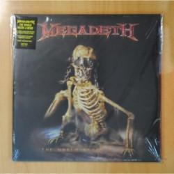 MEGADETH - THE WORLD NEEDS A HERO - 2 LP