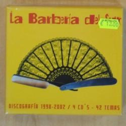 LA BARBERIA DEL SUR - DISCOGRAFIA 1998 2002 - 4 CD