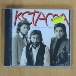KETAMA - EL ARTE DE LO INVISIBLE - CD