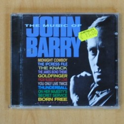 VARIOS - THE MUSIC OF JOHN BARRY - CD