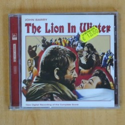 JOHN BARRY - THE LION IN WINTER - CD
