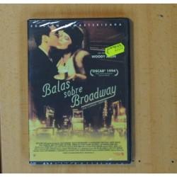 BALAS SOBRE BROADWAY - DVD