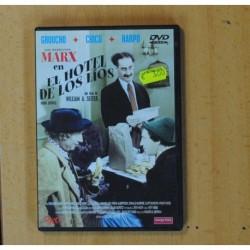 LOS HERMANOS MARX EN EL HOTEL DE LOS LIOS - DVD