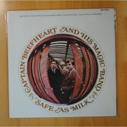 CAPTAIN BEEFHEART AND HIS MAGIC BAND - SAFE AS MILK - LP