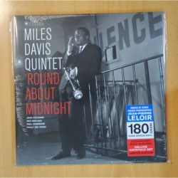 MILES DAVIS QUINTET - ROUND ABOUT MIDNIGHT - LP