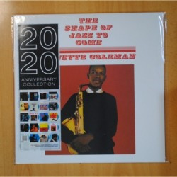 ORNETTE COLEMAN - THE SHAPE OF JAZZ TO COME - LP