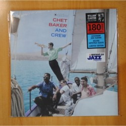 CHET BAKER - AND CREW - LP