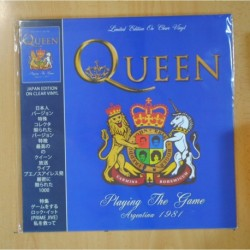QUEEN - PLAYING THE GAME ARGENTINA 1981 - VINILO COLOR - LP