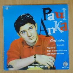 PAUL ANKA - C´EST SI BON + 3 - EP