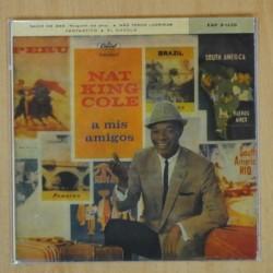 NAT KING COLE - NADIE ME AMA + 3 - EP