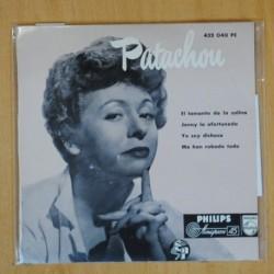 PATACHOU - EL LAMENTO DE LA COLINA + 3 - EP