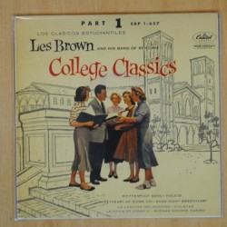 LES BROWN - COLLEGE CLASSICS PART 1 - EP