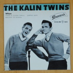 THE KALIN TWINS - WHEN + 3 - EP