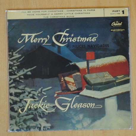 JACKIE GLEASON - I´LL BE HOME FOR CHRISTMAS + 3 - EP