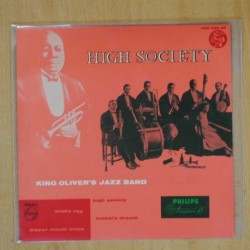 KING OLIVER´S JAZZ BAND - HIGH SOCIETY + 3 - EP