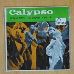 NORMAN MAINE Y SU ORQUESTA TIPICA - CO CO CALYPSO + 3 - EP