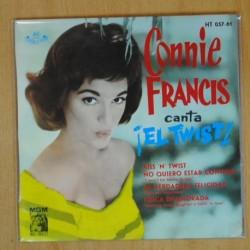 CONNIE FRANCIS - KISS N TWIST + 3 - EP