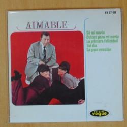 AIMABLE - SE MI NOVIA + 3 - EP
