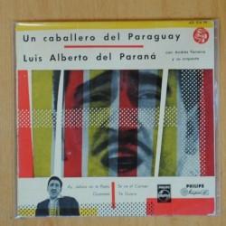 LUIS ALBERTO DEL PARANA - AY JALISCO NO TE RAJES + 3 - EP