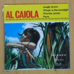 AL CAIOLA - JUNGLE DRUMS + 3 - EP