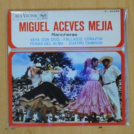 MIGUEL ACEVES MEJIA - VAYA CON DIOS + 3 - EP