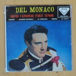 DEL MONACO - CARMEN + 3 - EP