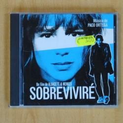 PACO ORTEGA - SOBREVIVIRE - CD
