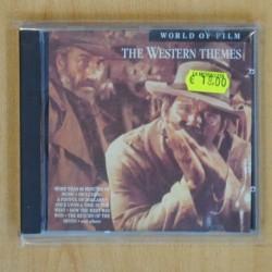 VARIOS - WESTERN THEMES - CD