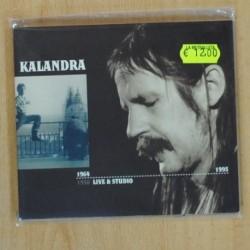 PETR KALANDRA - LIVE & STUDIO 1964 1995 - CD