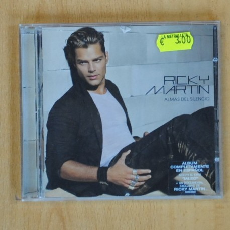 RICKY MARTIN - ALMAS DEL SILENCIO - CD