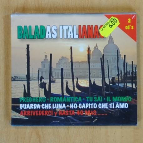 VARIOS - BALADAS ITALIANAS - 2 CD