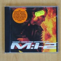 VARIOS - MISION IMPOSIBLE 2 - CD