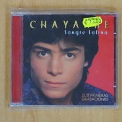 CHAYANNE - SANGRE LATINA - CD