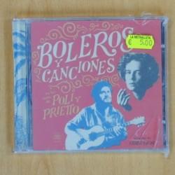 MAXIMILIANO PRIETTO Y NATALIA POLITANO - BOLEROS Y CANCIONES - CD