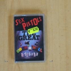 SEX PISTOLS - THE GREAT ROCK N ROLL SWINDLE - CASSETTE