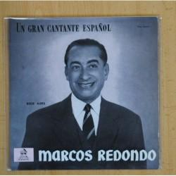 MARCOS REDONDO - EL DIVO / LA LINDA TAPADA - SINGLE