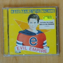 RAGE AGAISNT THE MACHINE - EVIL EMPIRE - CD