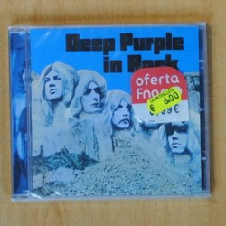 DEEP PURPLE - IN ROCK - CD