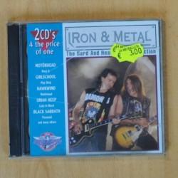 VARIOS - IRON & METAL - 2 CD