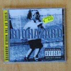 BIOHAZARD - STATE OF THE WORLD ADDRESS - CD