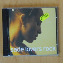 SADE - LOVERS ROCK - CD