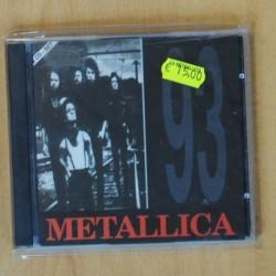 METALLICA - 93 - CD