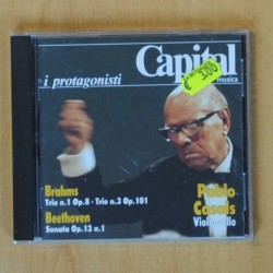 PABLO CASALS - BRAHMS / BEETHOVEN - CD