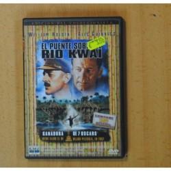 EL PUENTE SOBRE RIO KWAI - DVD