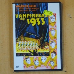VAMPIRESAS DE 1933 - DVD