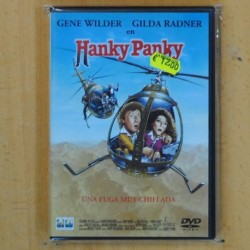 HANKY PANKY UNA FUGA MUY CHIFLADA - DVD