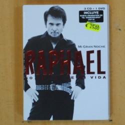 RAPHAEL - 50 EXITOS DE MI VIDA - 3 CD + DVD