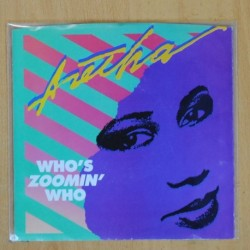 ARETHA - WHOS ZOOMIN WHO / SWEET BOTTER LOVE - SINGLE