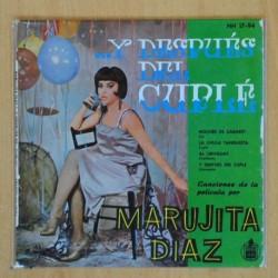 MARUJITA DIAZ - Y DESPUES CUPLE + 3 - EP