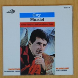 GUY MARDEL - GRAN FESTIVAL DE EUROVISION 1965 + 4 - EP